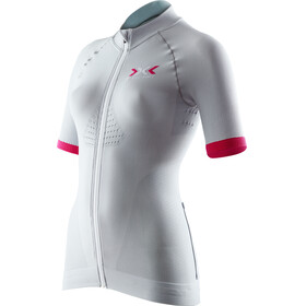 X-Bionic Race EVO Biking Shirt SS Women Grey/Raspberry